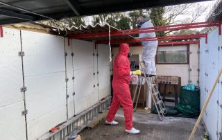 Asbestos Roof Removal in London